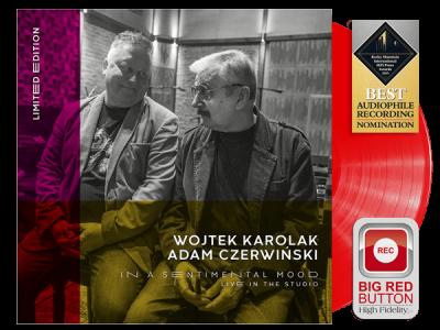 "Karolak/Czerwiński ""In A Sentimental Mood"" Limited Edition Red Vinyl"